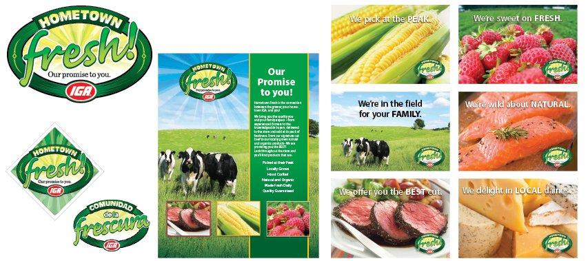 IGA Hometown Fresh Products Series