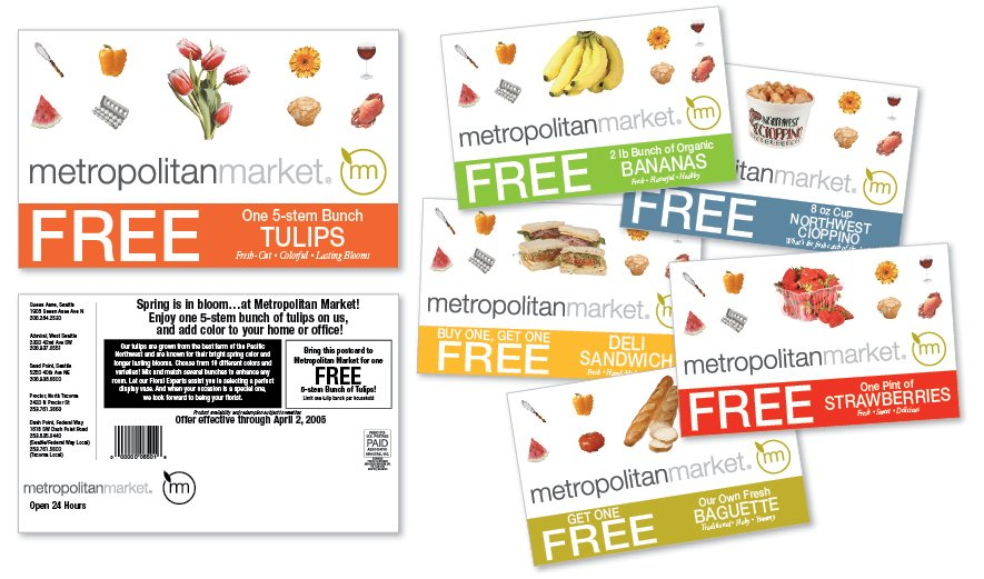 Metropolitan Market Postcard Series