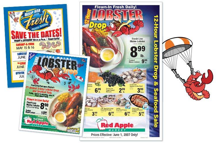 Red Apple Markets - Lobster Drop