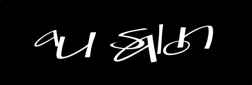 Au Salon Portland Logo Development