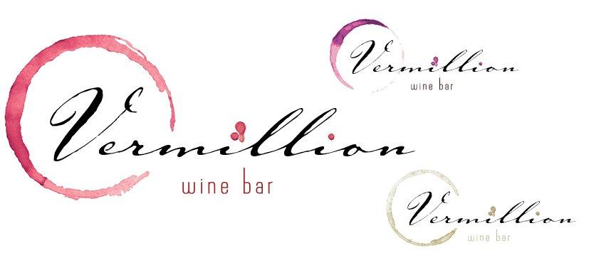 Vermillion Wine Bar Identity Project