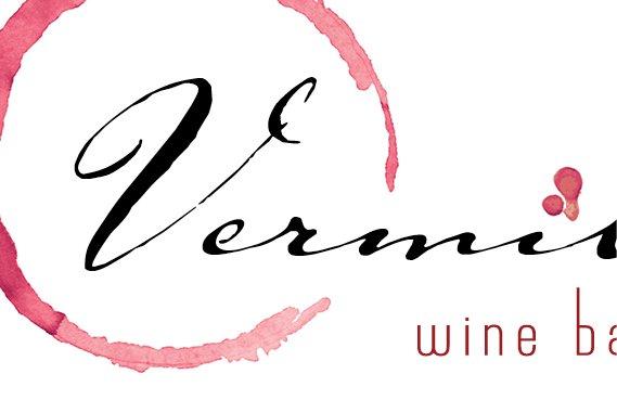 Vermillion Wine Bar Branding